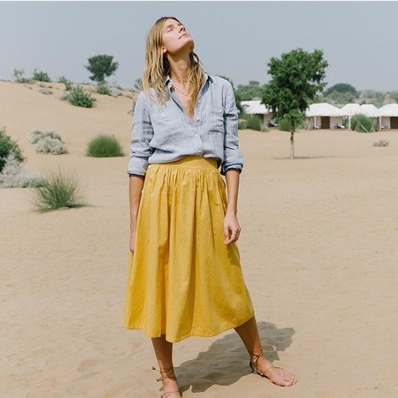 15d1dc1fdd87 Madewell Dresses & Skirts - Madewell side button skirt